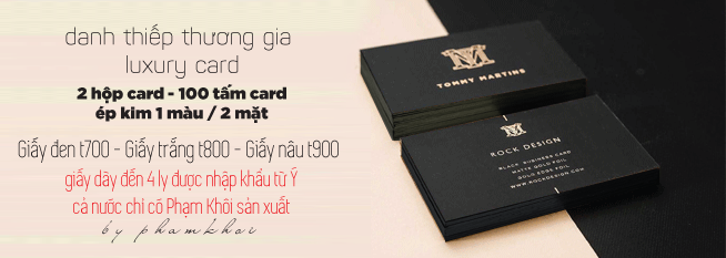 in card cao cấp