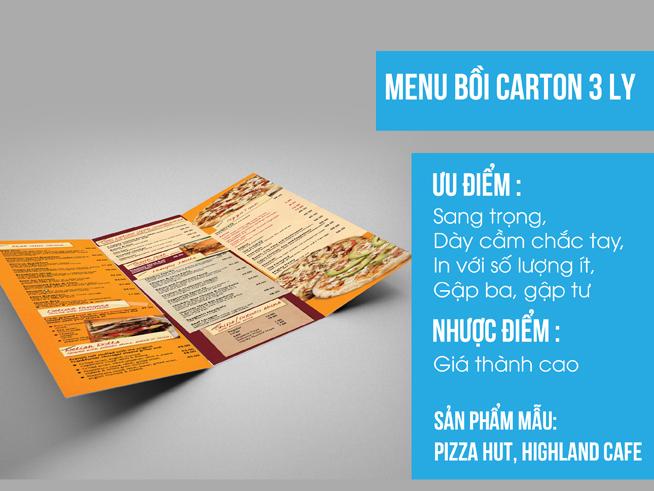 Phạm Khôi chuyên thiết kế in ấn Menu nhà hàng - 8